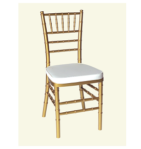 Gold Chiavari Ballroom Chair For Rent